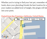Geolocation Plugin Screenshot