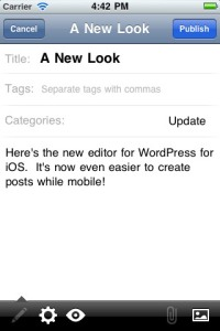 WordPress for iOS 2.7 Now Available