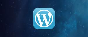 WordPress for iOS App Icon Fall 2013